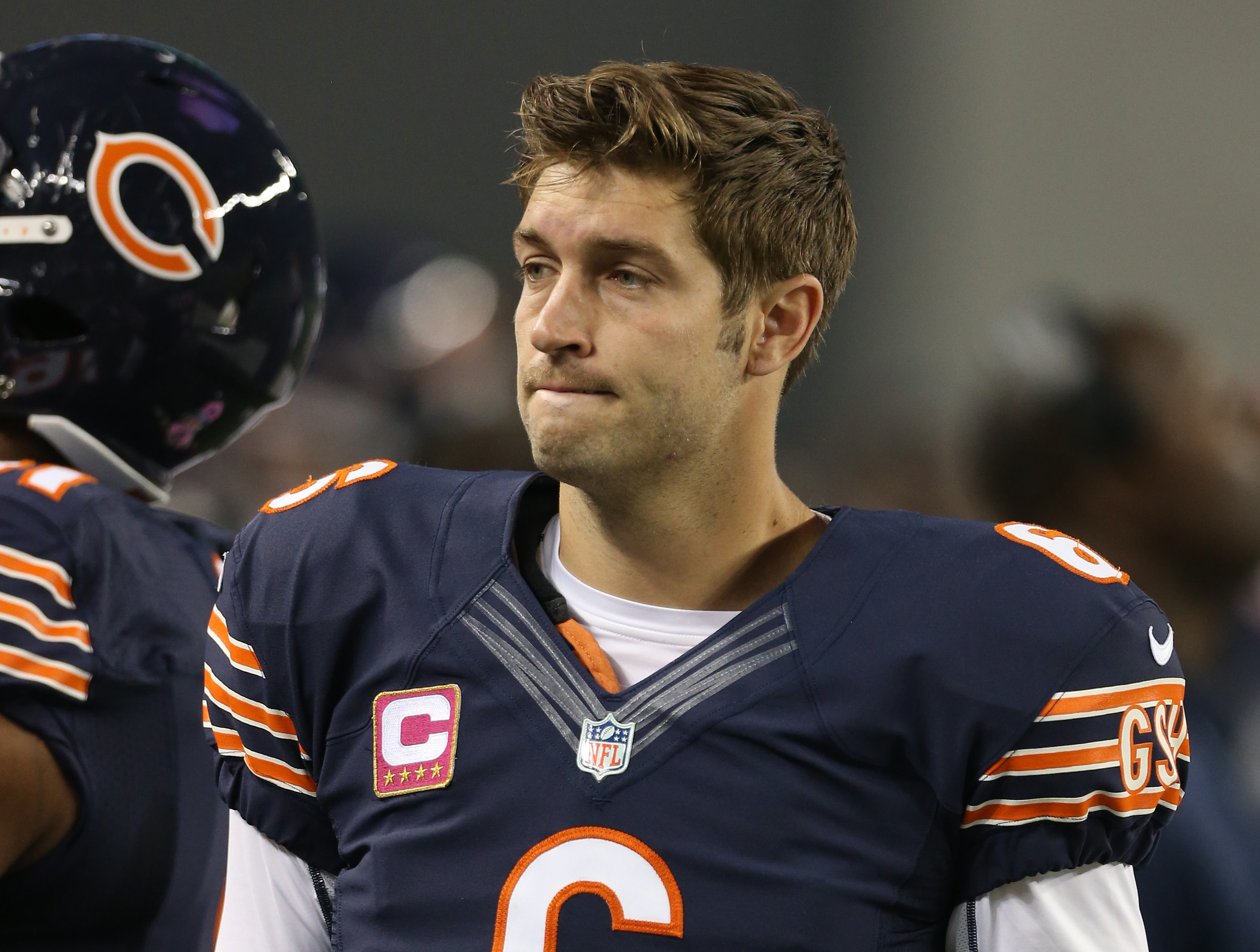 Jay Cutler Benched By Chicago Bears For Jimmy Clausen